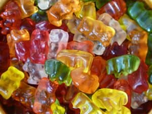 דובוני גומי בכל הצבעים